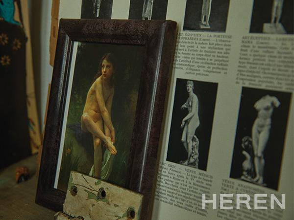 자연과 인간, 존재의 인지는 오마르의 자유로운 예술 세계의 축을 이룬다.