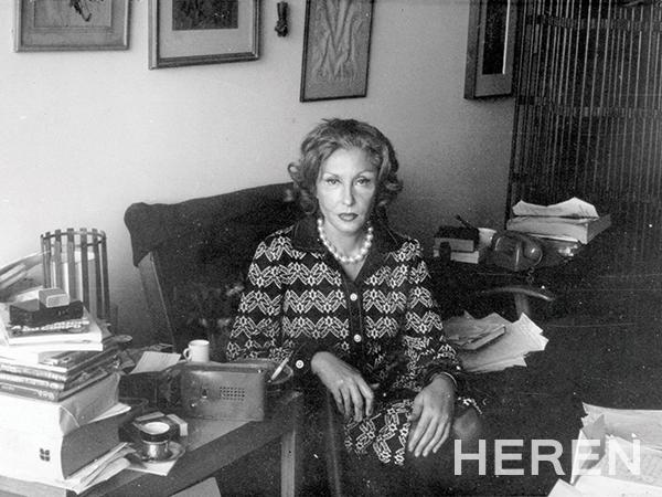 우크라이나에서 태어나 브라질로 이주한 유대계 작가 클라리시 리스펙토르. 배수아는 그녀의 놀라운 직관과 문학적 사유를 '환상적인 불협화음'이라고 표현했다.